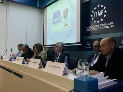 Reunión del Consejo Permanente de la Federación en la FEMP