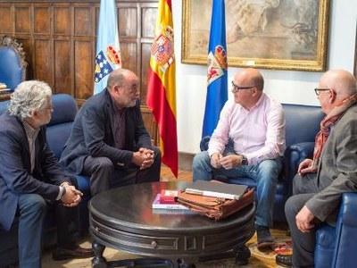Reunión en la Diputación de Ourense