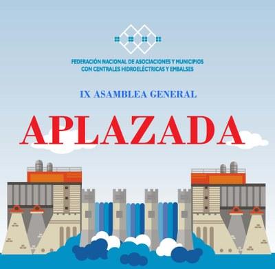 Aplazada la celebración de la IX Asamblea General que debía celebrarse el 29 de octubre