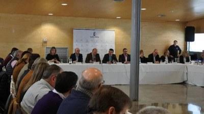 El Presidente representa a la Federación en la constitución de la Mesa del Agua de Castilla La Mancha