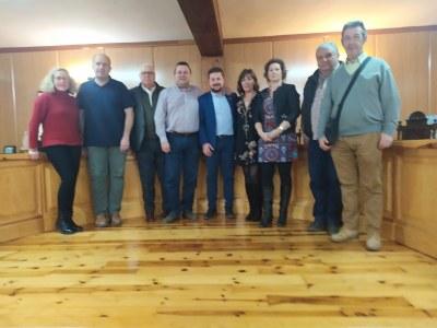 El Presidente y la Secretaria General de la Federación se reúnen con municipios afectados por los embalses de Alarcón y Contreras