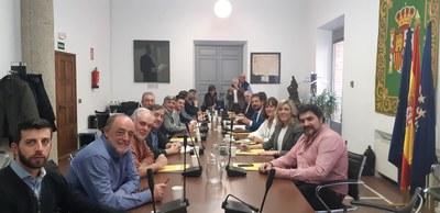La Federación celebra reunión de la Comisión Ejecutiva donde se elije a las Vicepresidencias y se formalizan las comisiones de trabajo