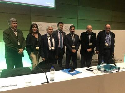 La Federación celebró ayer su IX Asamblea General en Toledo