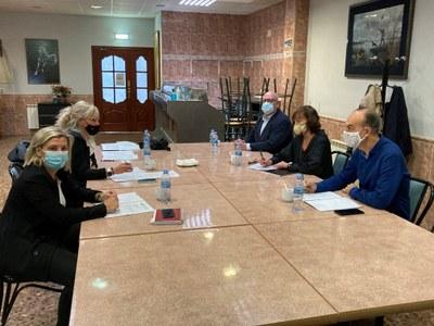 La Secretaria General de la Federación se reúne con Diputadas/os al Congreso
