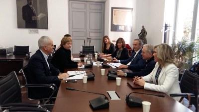 Miembros de la Federación se reúnen con representantes de la FEMP para plantear propuestas en el ámbito tributario y ambiental