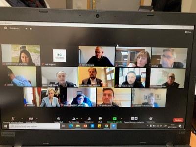 Reunión ordinaria de la Comisión Ejecutiva de la Federación