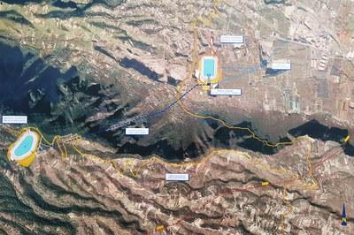 La central hidroeléctrica de salto se ubicará en Los Silos o Güímar