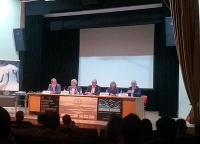Miguel Gracia defiende en Badajoz la necesidad de normativa específica y planes de desarrollo para un turismo interior en embalses